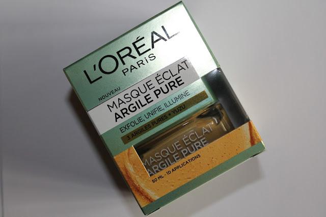 Masque Éclat Argile Pure - L'Oréal