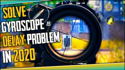 PUBG MOBILE Gyroscope Delay Problem Fix 100% Working Method in Hindi   How To Fix Gyroscope Delay