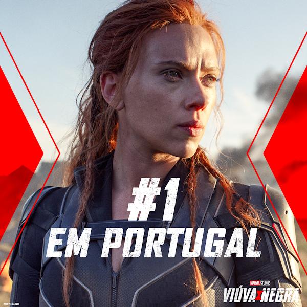 VIÚVA NEGRA - #1 NO FIM DE SEMANA DE ESTREIA EM PORTUGAL