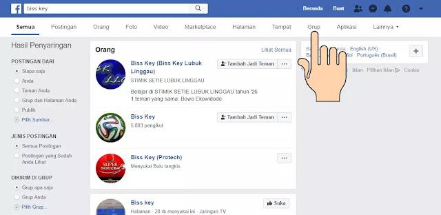 cara mencari biss key terbaru di FB