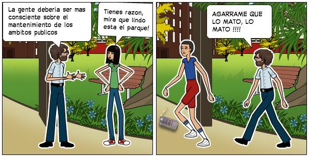 comic sobre el medioambiente