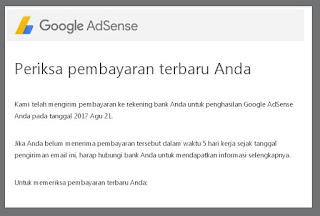 Google Adsense Gajian