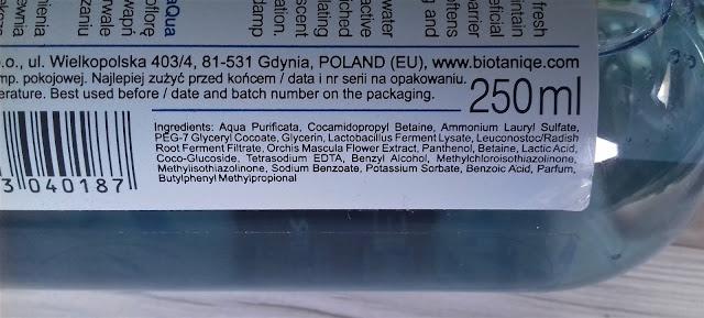 Biotaniqe łagodny żel do mycia twarzy