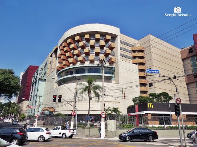 Vista ampla do Bourbon Shopping - Água Branca - São Paulo