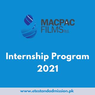 Macpac Films Internship Program 2021