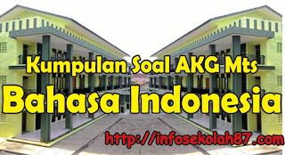 50+ Contoh Soal dan Kunci Jawaban AKG MTs Materi Bahasa Indonesia
