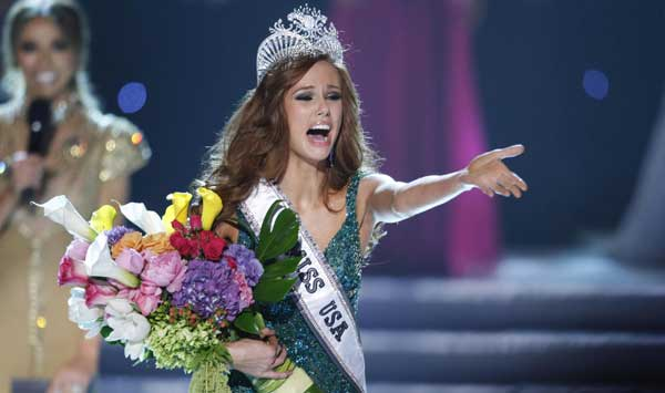 Alyssa Campanella Wins Miss USA 2011