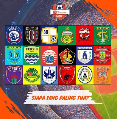 18 klub yang berkompetisi di lia 1 2020