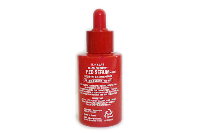 SKIN&LAB Dr. Color Effect Red Serum | Review