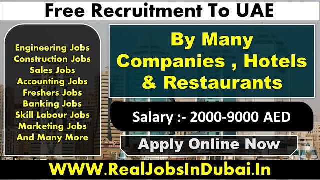 Latest New Jobs In Sharjah UAE 2021