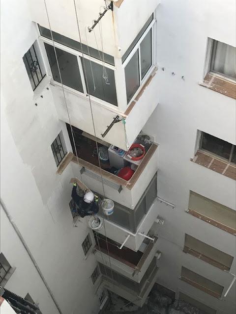 Rehabilitación de fachadas en edificios de viviendas en Granada