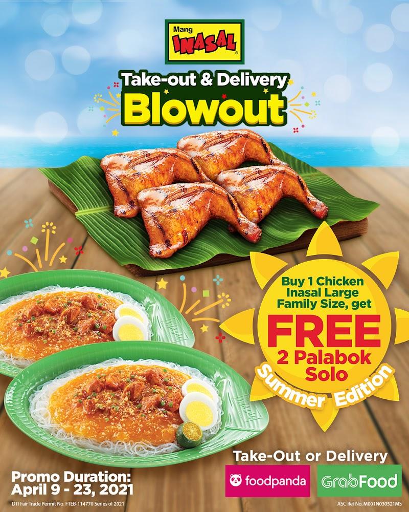 Mang Inasal Chicken and Palabok Blow-out