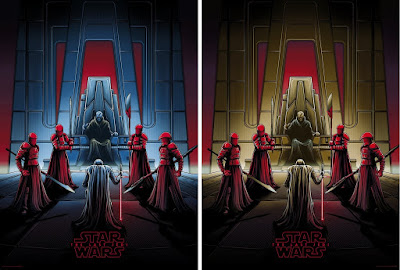 Star Wars The Last Jedi Screen Print Series by Dan Mumford x Acme Archives x Bottleneck Gallery x Dark Ink Art