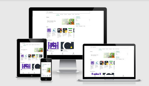 Google Play Store Blogger Template Free Download