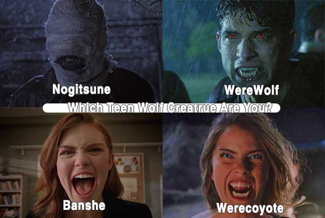 Teen Wolf: Which Creature Are You?