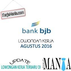 Lowongan Kerja Terbaru Bank BJB Agustus 2016
