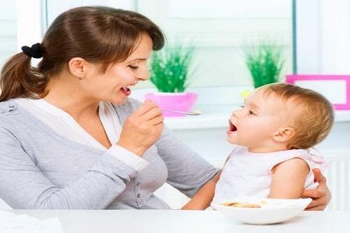 وجبات الاطفال الرضع
