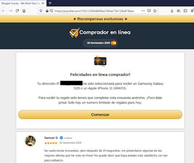 Encuesta Amazon