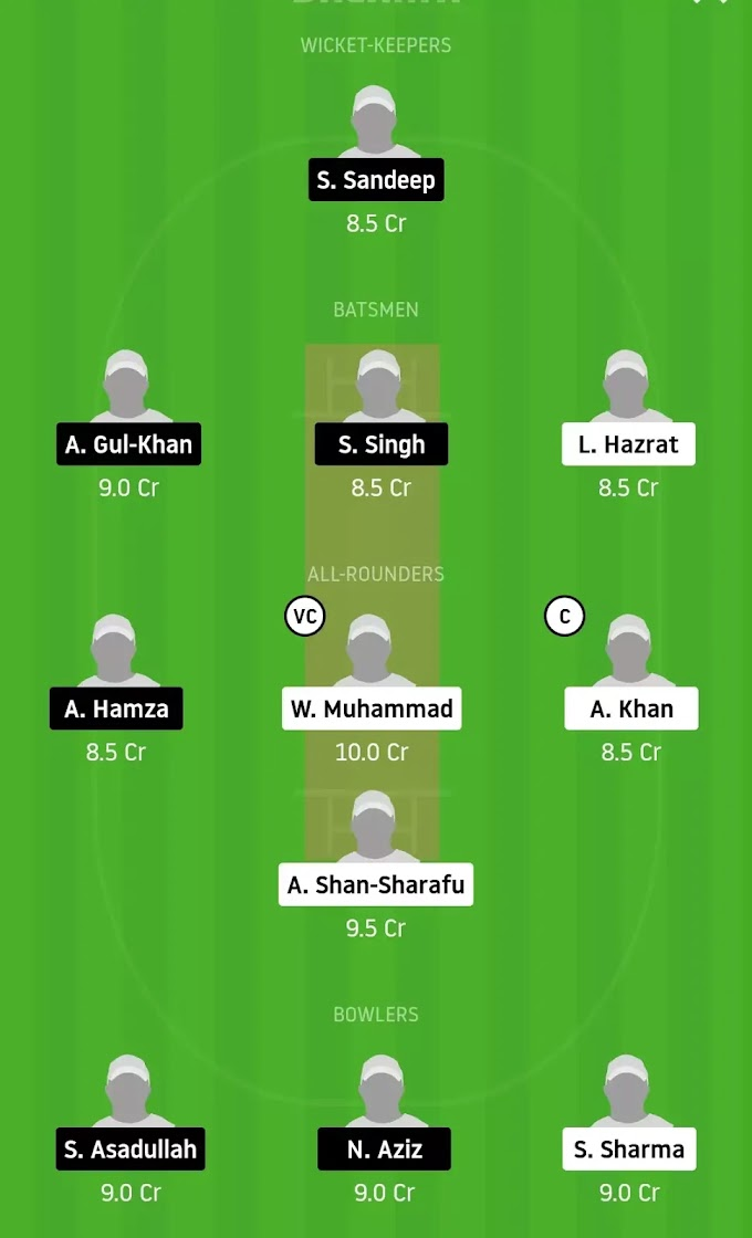 FPV vs AAD Dream 11 Team Prediction | Best Analysis For Emirates D10 League 2020