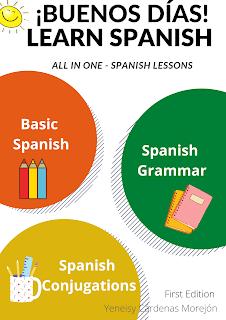 good morning in Spanish, buenos días, Spanish ebook