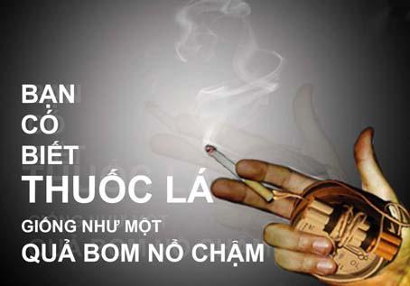 Hút thuốc lá đang dần dần giết chết bạn