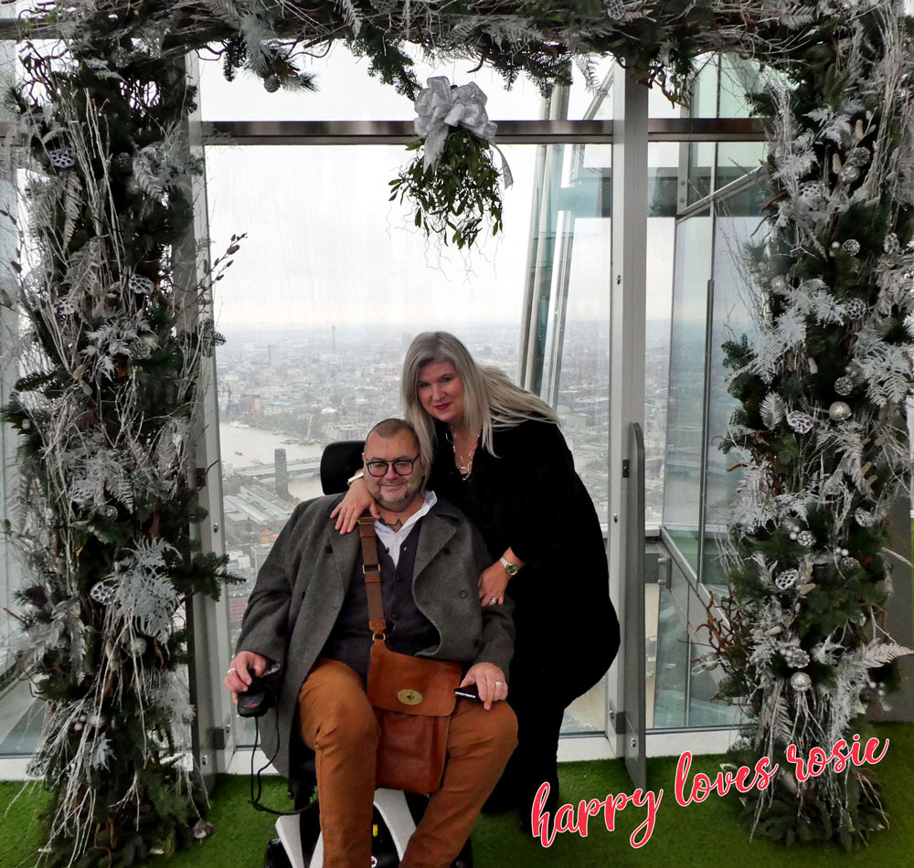 happy loves rosie at the shard