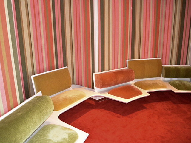 TWA Hotel JFK Pastel Seating