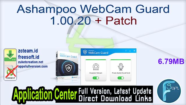 Ashampoo WebCam Guard 1.00.20 + Patch_ ZcTeam.id