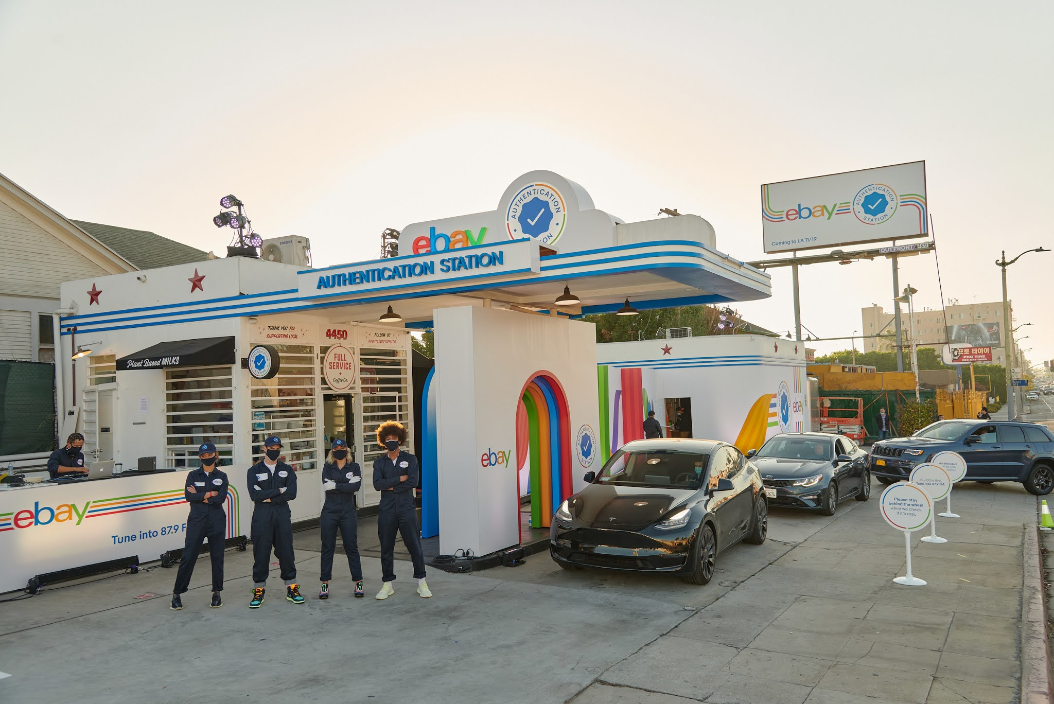 eBay Opens First-Ever Drive-Thru 'Authentication Station' in LA