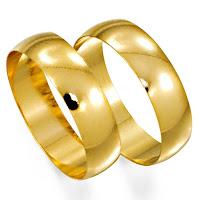 Bela Canaa - Alianças de Ouro - Alianças de Casamento  Alianças de Ouro 623c396d25