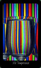 Temperance tarot card image