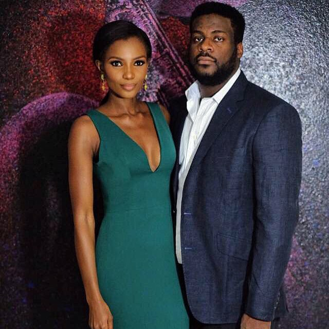 Agbani Darego shares first photo with her husband Ishaya Danjuma
