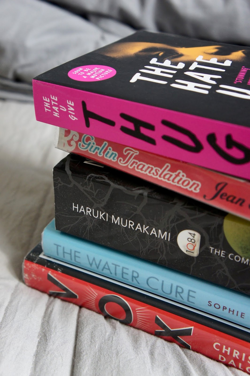 blogger's bookshelf bookstack tbr