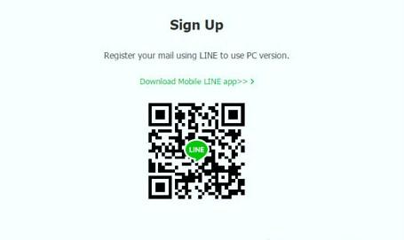 cara login line di pc dengan qr code