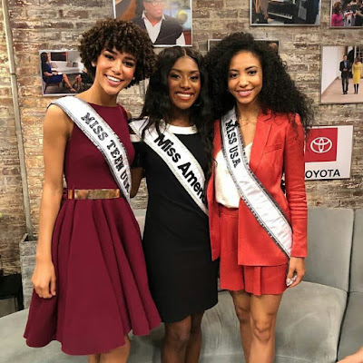 Miss America, Miss USA & Miss Teen USA all smiles in new photos
