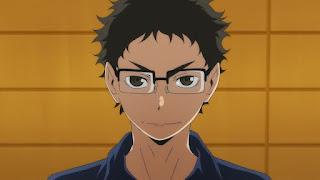 ハイキュー!! アニメ 2期12話 武田一鉄 | HAIKYU!!  Ohgiminami high vs Karasuno