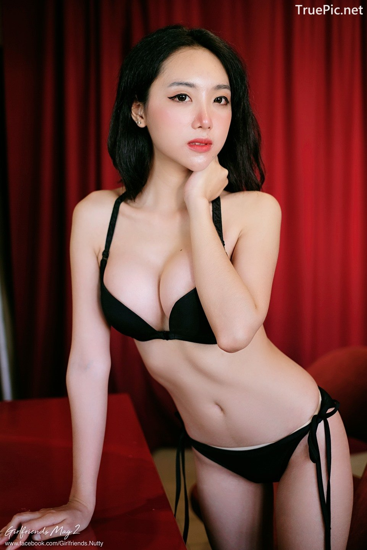 Image Thailand Model - Piyatida Rotjutharak - Black Lingerie - TruePic.net - Picture-4