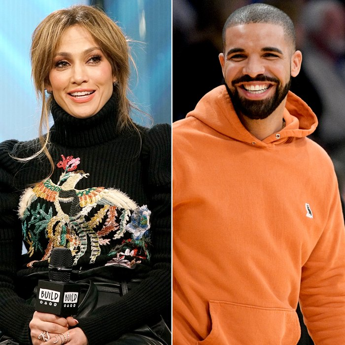 7- Drake The rapper and Lopez first called backstage in December 2016 after attending her All I Have Show. In January 2017, a source revealed to Us Weekly that the two were dating. In February of that year, their brief relationship fizzled out after Drac embarked on his European tour.