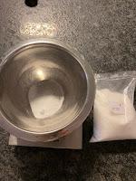 Réalisation du cake lave-vaisselle à la lavande