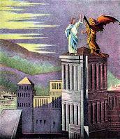 Satan tempts Jesus with political power