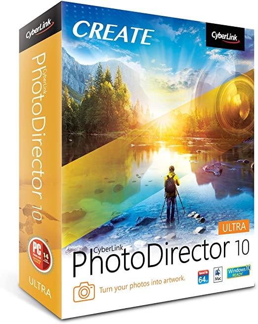 CyberLink PhotoDirector 10 Crack e Serial Download Grátis