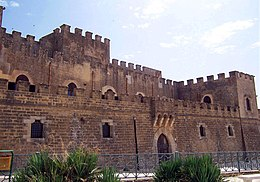The Castello Grifeo in Partanna is one of Sicily's best-preserved castles