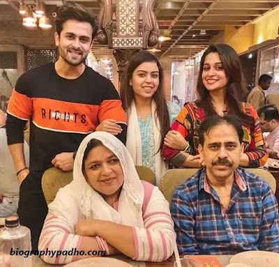 Dipika Kakar Family Photo