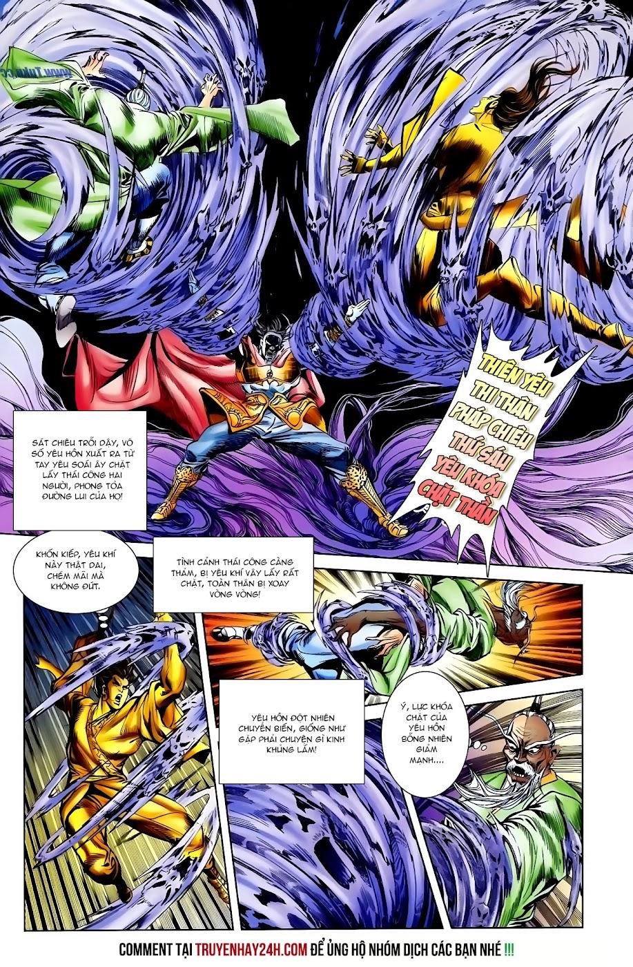 Cơ Phát Khai Chu Bản chapter 110 trang 23