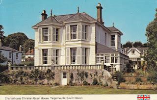 Charterhouse Christian Guest House, Teignmouth, South Devon. E.T.W. Dennis & Sons Ltd. Posted on 29 April 1980