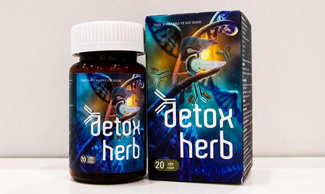 ký sinh trùng detoxherb