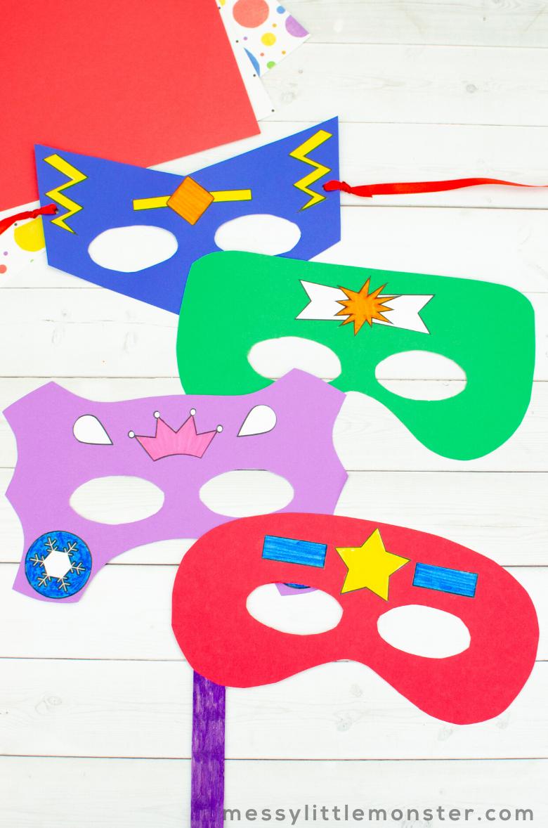 superhero craft for kids