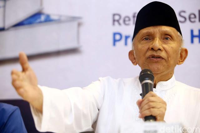 Pernyataan Amien Rais Soal Jokowi Ini Dilaporkan Ke Bawaslu