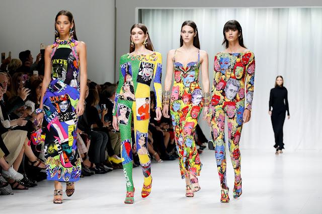 Versace Ready-to-wear Spring Summer 2018 Milan Fashion Week