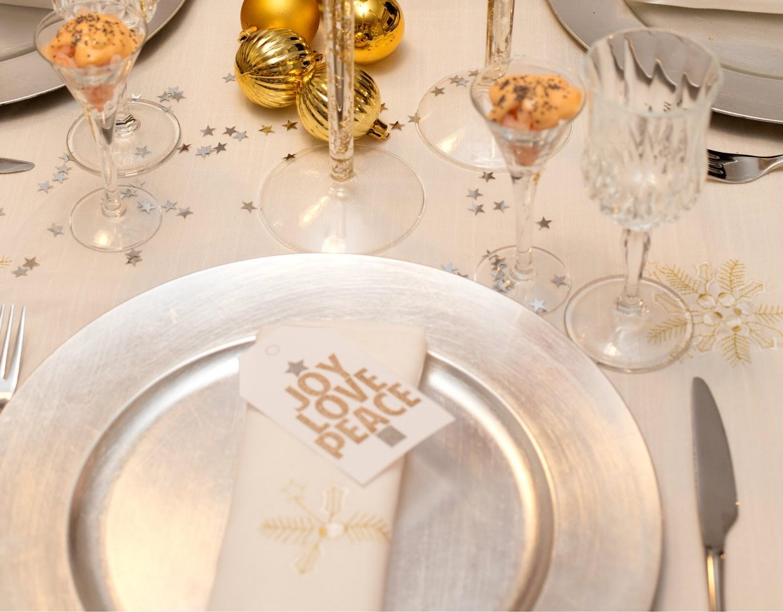 [ DIY ] La tavola Pre – Natale e la mia Torta di Neve